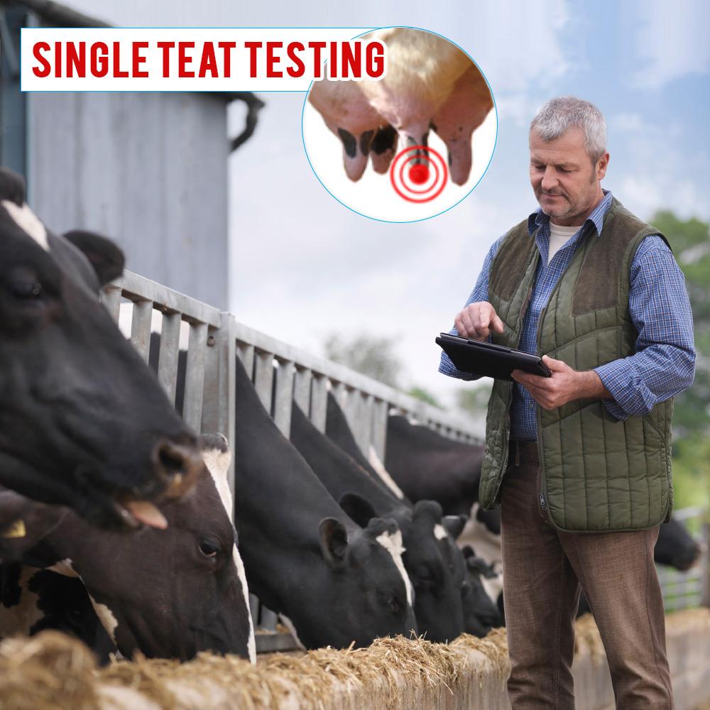 cow farm milk testing