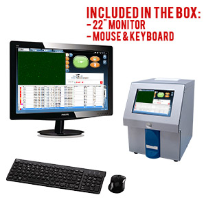 SCC Compact comes with monitor, mouse and keyboard