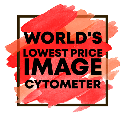 Worlds lowest price for image cytometer