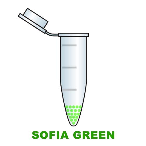 sofia green dye